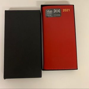 COPY - Letts of London leather 2021 planner